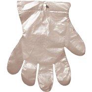 Jednorazové mikroténové rukavice na odtrhnutie 100 ks / balenie