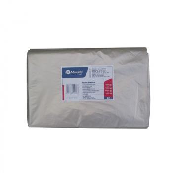 Vrecia na odpadky LDPE, 38 mi, 70x110cm, 120 l, číre 50 ks/b
