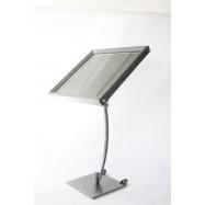 LED Informačná tabuľa Securit (6 x A4) - lakovaná oceľ