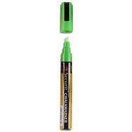 Popisovač Securit s tekutou kriedou 2 - 6 mm - zelená
