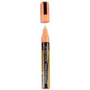 Popisovač Securit s tekutou kriedou 2 - 6 mm - oranžová