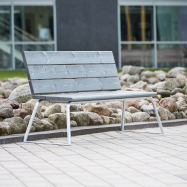 Parková lavička Arctic s operadlom