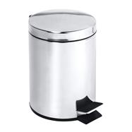 Odpadkový kôš 5L, nerez mat