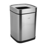 Odpadkový kôš bez veka 9L, nerez mat