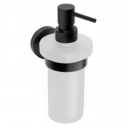 DARK: Dávkovač tekutého mydla 230 ml, sklo