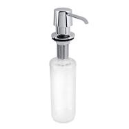 Integrovaný dávkovač tekutého mydla a saponátu 300ml, nerez lesk