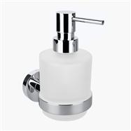 OMEGA: Dávkovač tekutého mydla 200ml, sklo MINI