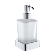 SOLO: Dávkovač tekutého mydla, sklo