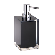 VISTA: Dávkovač tekutého mydla, čierny