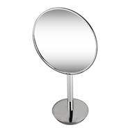 Kozmetické zrkadlo 215mm, na postavenie, okrúhle, bez osvetlenia, plastový kryt