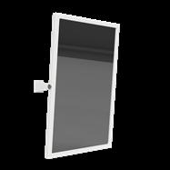HELP: Výklopné Zrkadlo, biele