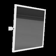 HELP: Výklopné Zrkadlo, biele 600x600