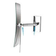 Kozmetické zrkadlo jednostranné hranaté s kĺbom 360 °, 3x