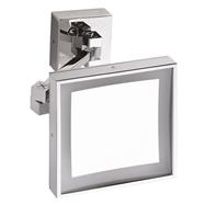Kozmetické zrkadlo s LED osvetlením hranaté, IP44, Touch senzor