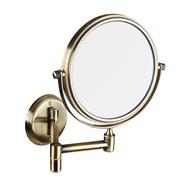 RETRO bronz: Kozmetické zrkadlo obojstranné