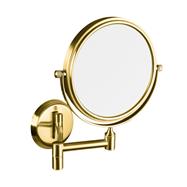 RETRO zlato: Kozmetické zrkadlo obojstranné