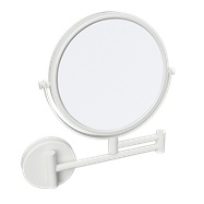 WHITE: Kozmetické zrkadlo obojstranné