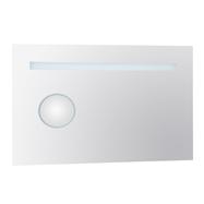 Zrkadlo s ovětlením 600x900x30 a s integrovaným podsvieteným kosm.zrcátkem