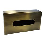 RETRO bronz: Zásobník na papierové vreckovky