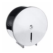 Bubnový zásobník na toaletný papier O 200 mm so zámkom, lesk