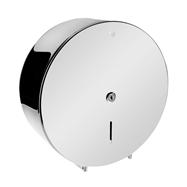 Bubnový zásobník na toaletný papier O 310 mm, so zámkom, lesk