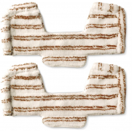 2 ks návleků na dřevěné podlahy z mikrovlákna pro parní vysavače Polti UNICO