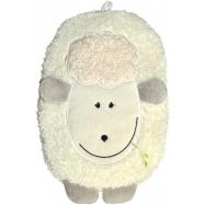 Dětský termofor Hugo Frosch Eco Junior Comfort s motivem ovečky - krémová