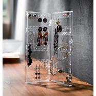 Organizér na drobné šperky Compactor – čirý plast