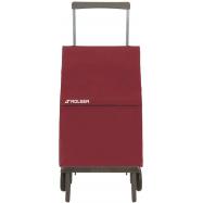 Rolser Plegamatic Original MF nákupní skládací taška na kolečkách, vínová