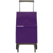 Rolser Plegamatic Original MF nákupní skládací taška na kolečkách, fialová