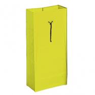 PVC vrece k vozíkom Nick Star / Green, 120 l, žltý