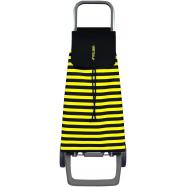 Rolser nákupní taška na kolečkách Jet Marina, černo-žlutá