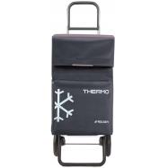 Rolser Termo Fresh MF RG nákupní taška na kolečkách, tmavě šedá