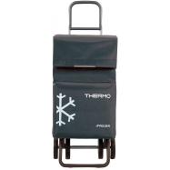 Rolser Termo Fresh MF DOS+2 nákupní taška na kolečkách, tmavě šedá