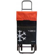 Rolser Termo Fresh MF DOS+2 nákupní taška na kolečkách, černo-červená