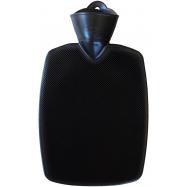 Termofor Hugo Frosch Classic s vysokým drážkováním - černý, zvýšená tepelná izolace
