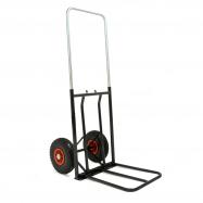 Vozík na balíky pneu kolanosná lišta, nosnosť: 150kg730-1060x430mm