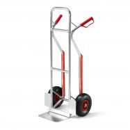Hliníková rudla, 180 kg, pneumatické kolesá