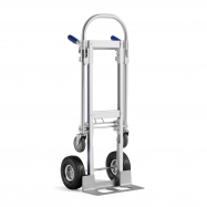 Rudla + vozík, 250 kg, hliníkový