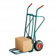 Rudla, 250 kg, pneumatické kolesá, zelený