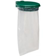 Držák na pytel pro tříděný odpad Rossignol Collecmur Essentiel, 57953, 110 L, zelené víko