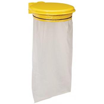 Držák na pytel pro tříděný odpad Rossignol Collecmur Essentiel, 57952, 110 L, žluté víko