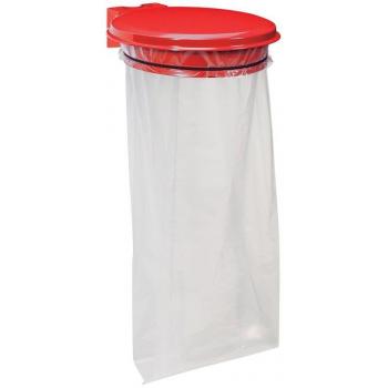 Držák na pytel pro tříděný odpad Rossignol Collecmur Essentiel, 58202, 110 L, červené víko