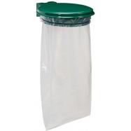 Držák na pytel pro tříděný odpad Rossignol Collecmur Extreme, 57804, 110 L, zelené víko