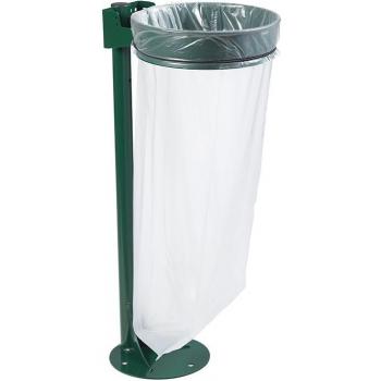 Venkovní stojan pro pytel na odpad Rossignol Ecollecto Essentiel 57319 110 L, zelený
