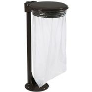Venkovní stojan pro pytel na odpad Rossignol Collecmur Extreme 57645, 110 L, hnědé víko