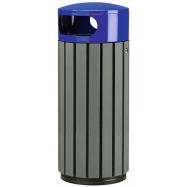 Venkovní odpadkový koš Rossignol Zeno Etik 57929, 60 L, modrý