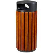 Venkovní odpadkový Rossignol Zeno 58210 - 60 L, dřevo, tmavě šedý