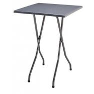 Skladací koktejlový stôl FAVOURITE s doskou 70x70cm