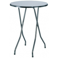 Skladací koktejlový stôl FAVOURITE s doskou Ø 80 cm